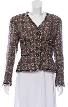 Chanel Metallic Lesage Jacket
