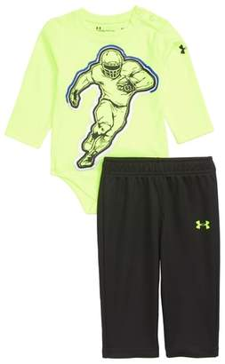 Under Armour Football Player Bodysuit & Mesh Pants Set