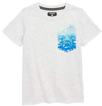 Hurley 'Pocket Play' Screenprint T-Shirt