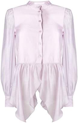 See by Chloe flared longsleeved blouse