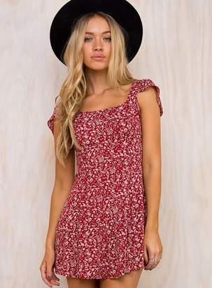 Redding Floral Mini Dress