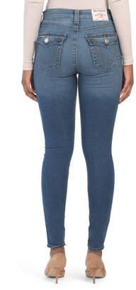 High Rise Flap Pocket Halle Jeans