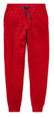 Ralph Lauren Boy's Drawstring Fleece Jogger Pants