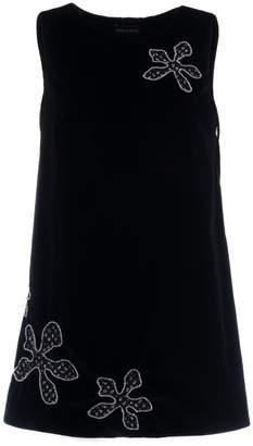Adelina RUSU - Black Cotton Velvet Mini Dress