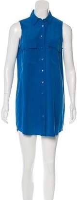 Equipment Silk Sleeveless Dress