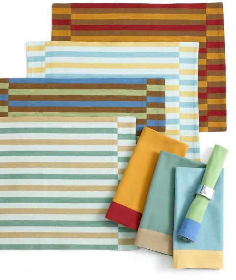 CLOSEOUT! Home James Jabberwocky Placemat and Napkin Collection