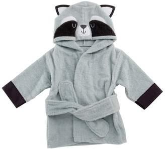 Baby Aspen Forest Friends Raccoon Hooded Spa Robe