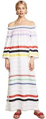 Cynthia Rowley Women's Ditch Plains Fringe Maxi Dress