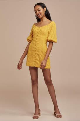 Finders Keepers ELLE MINI DRESS marigold