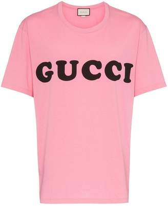 Gucci Baby logo print cotton t shirt