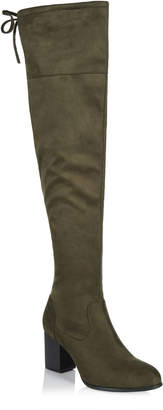 Long Tall Sally LTS Tara Over The Knee Boot