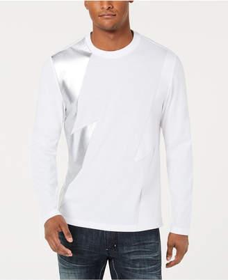 INC International Concepts I.n.c. Men's Long-Sleeve Lightning T-Shirt, Created for Macy's