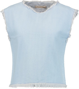Marc by Marc Jacobs Frayed Denim Top