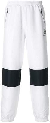 Andrea Crews colour-block track trousers