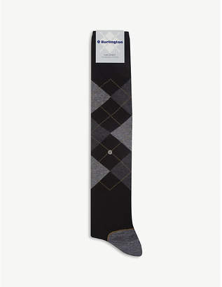 Burlington Hackney cotton-blend socks