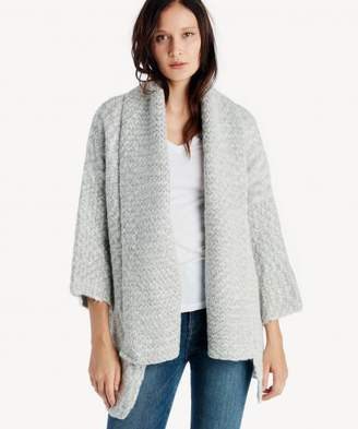 Sole Society Shawl Collared Oversized Cardigan