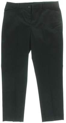 Jones New York Womens Petite Two-Pocket Twill Dress Pants
