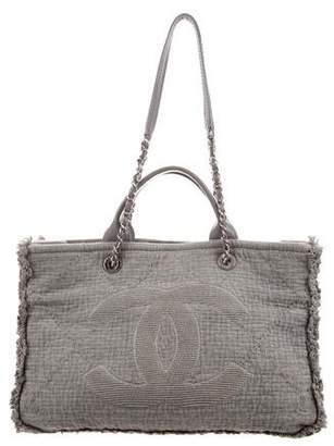 Chanel 2018 Medium Double Face Deauville Tote
