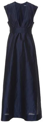 Max Mara S Genepi ramie and cotton dress