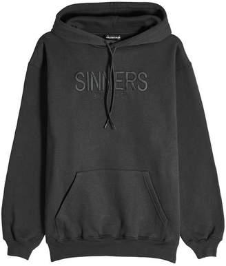 Balenciaga Sinners Cotton Hoody