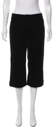 Andrew Gn Mid-Rise Wide-Leg Pants