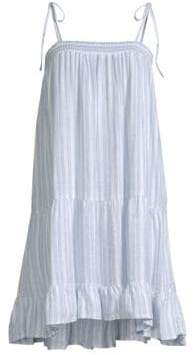 Rails Ari Stripe Flounce Dress