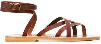 K. Jacques 'Zenobi' tie back strappy sandals