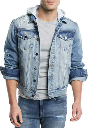 Ovadia & Sons OS-2 Hooded Denim Jacket