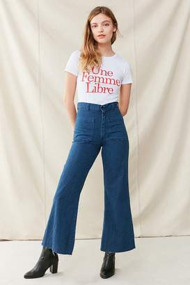 Urban Renewal Vintage Sailor High-Rise Flare Jean