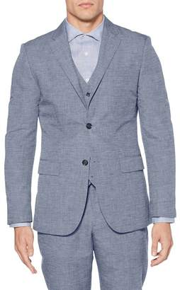 Perry Ellis Linen Blend Regular Fit Blazer