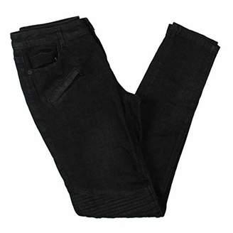 Anne Klein Women's Moto Jeans