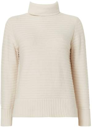 Wallis Stone Ribbed Roll Neck Jumper