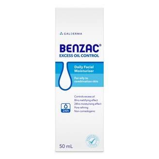 Benzac Excess Oil Control Moisturiser 50 mL