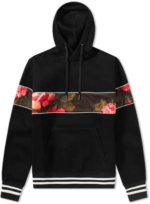 Alexander McQueen Floral Band Hoody