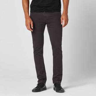 DSTLD Slim 12.25 oz. Stretch Denim Jeans in Charcoal