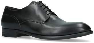 Ermenegildo Zegna Leather Rivoli Flexible Derby Shoes