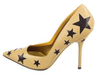 Dolce & Gabbana Star Pointed-Toe Pumps