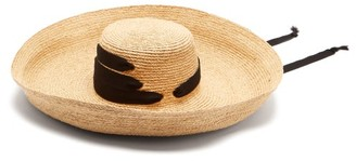 Lola Hats - Espartina Straw Hat - Womens - Black 489c6ef4ce82