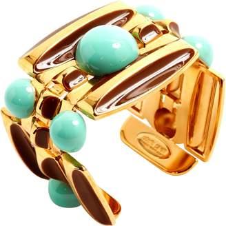 Roberto Cavalli Gold Metal Bracelets
