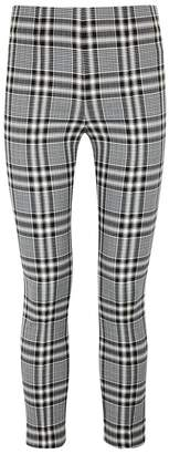 Veronica Beard Honolulu Cropped Plaid Trousers
