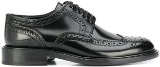 Saint Laurent lace-up leather Oxfords