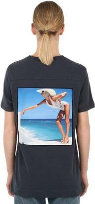 Riviera Limitato Patch Cotton Jersey T-shirt