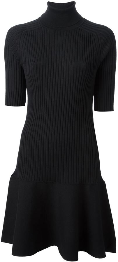 Michael Kors knitted ribbed dress
