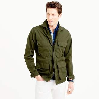 Wallace & Barnes lightweight military jacket $148 thestylecure.com