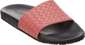 Bottega Veneta Lake Intrecciato Leather Sandal