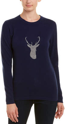 Two Bees Cashmere Deer Sweater