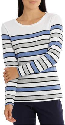 Regatta Multi Stripe 3/4 Sleeve Tee
