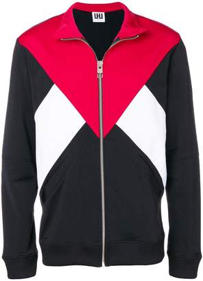 Les Hommes Urban colour block sports jacket