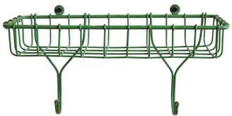 Laurèl Foundry Modern Farmhouse Greybull 12 x 6.375 x 5.125 Casual Country Metal Wire Basket Shelf