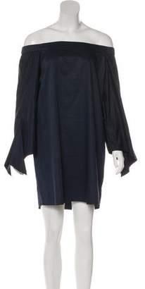 Tibi Bell Sleeve Mini Dress